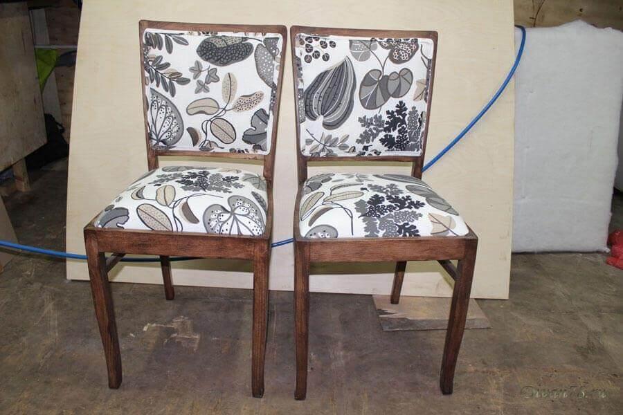 перетяжка стульев и реставрация