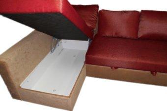 угловой серый диван икея монстад