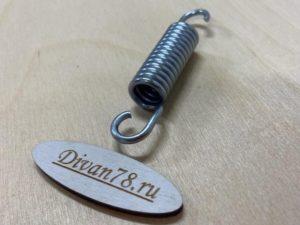 пружины 75 мм растяжения для французской раскладушки ифагрид 1