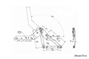 механизм для дивана книжка ш-234