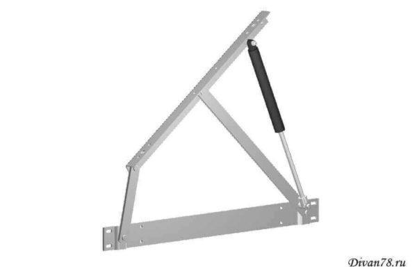 Подъемный механизм для основания кровати №559 с газлифтами
