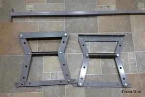Механизм трансформации для евротахты с шагом 480 мм