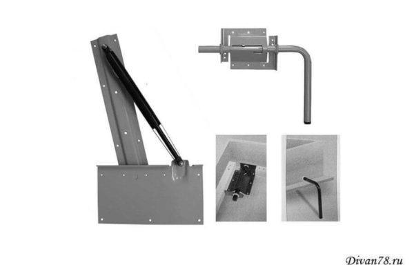 механизм для шкафа-кровати №582 с газлифтами