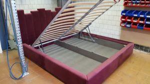 Кровать БОРДО двухспальная дизайнерская 3