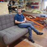 Стильный диван  КОМО со спальным местом 2
