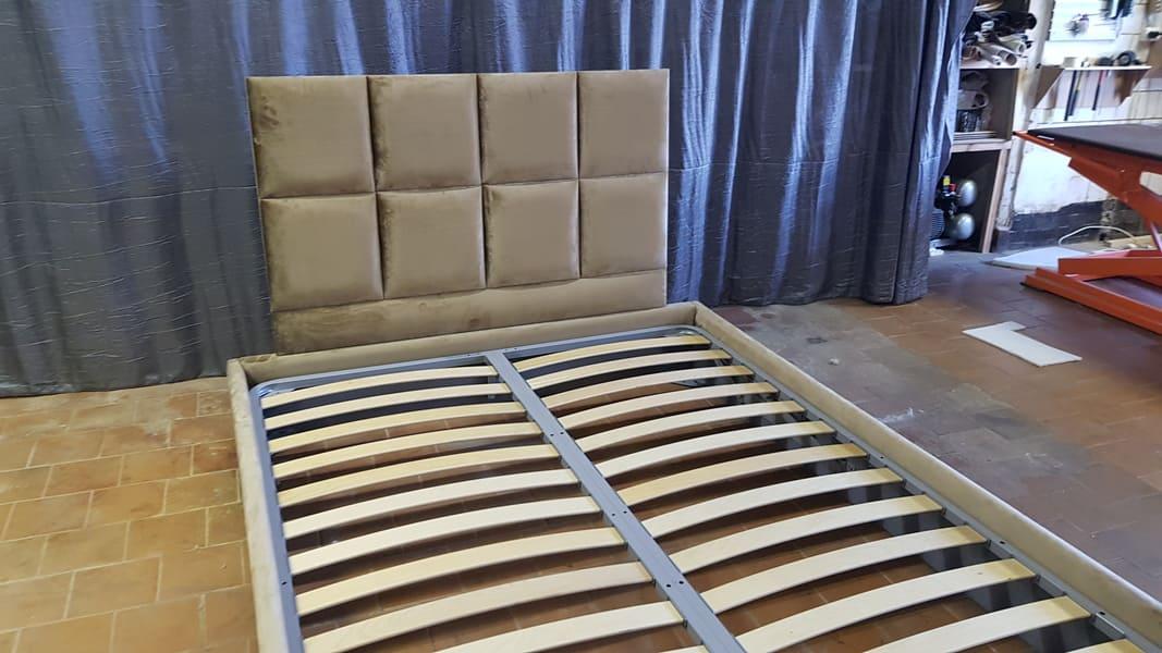 Кровать КВАДРО двуспальная дизайнерская