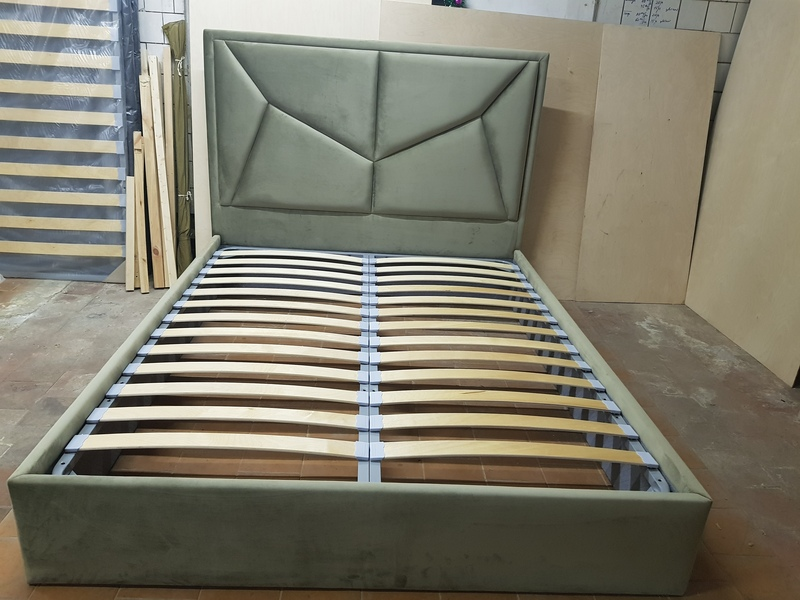 Кровать ОНДЭ двуспальная дизайнерская 2