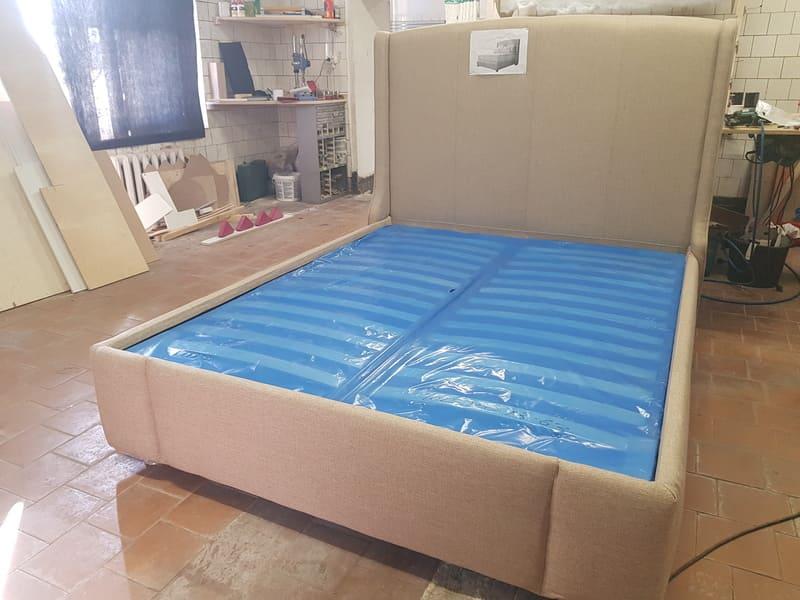 Кровать ПРАТО двуспальная дизайнерская 4