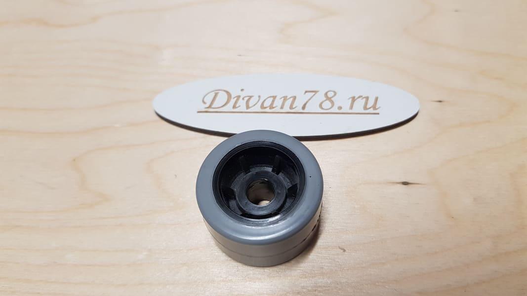 Ролик 36-23-8 мм углубленный прорезиненный 5